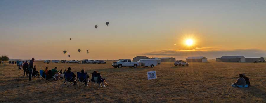 Fall River Balloon Festival Hot Springs South Dakota RV travels-min