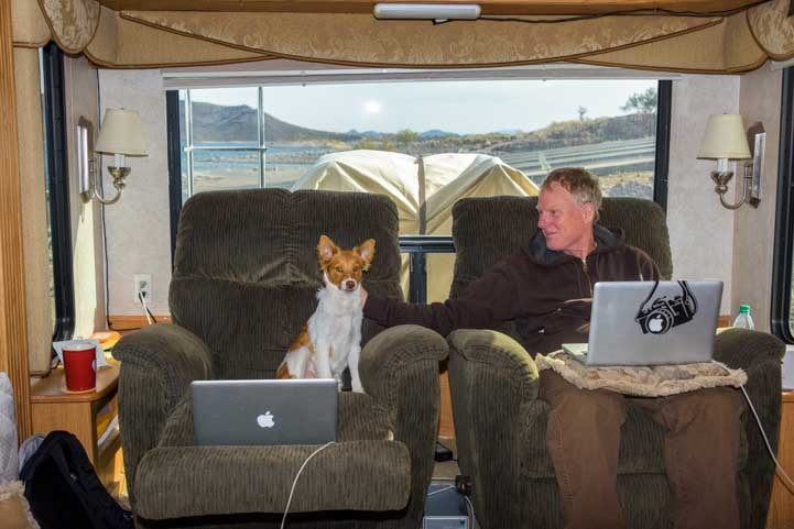 RVing with a dog-min