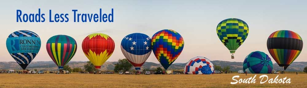 Hot Springs Balloon Festival RV trip to South Dakota