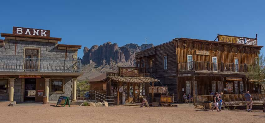Goldfield Ghost Town Lost Dutchman State Park Arizona RV trip-min