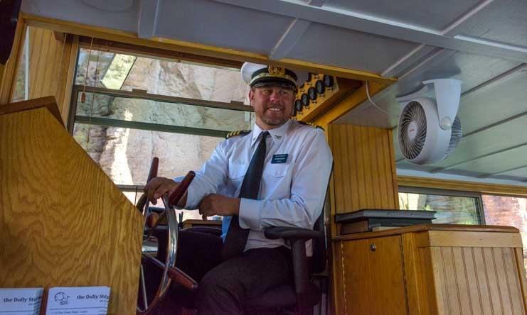 Captain Jason Dolly Steamboat Canyon Lake Arizona RV trip-min
