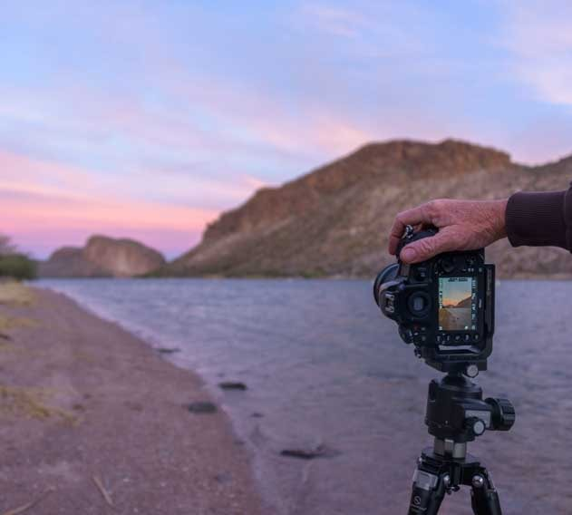Sunrise photography at Canyon Lake RV Campground Arizona-min