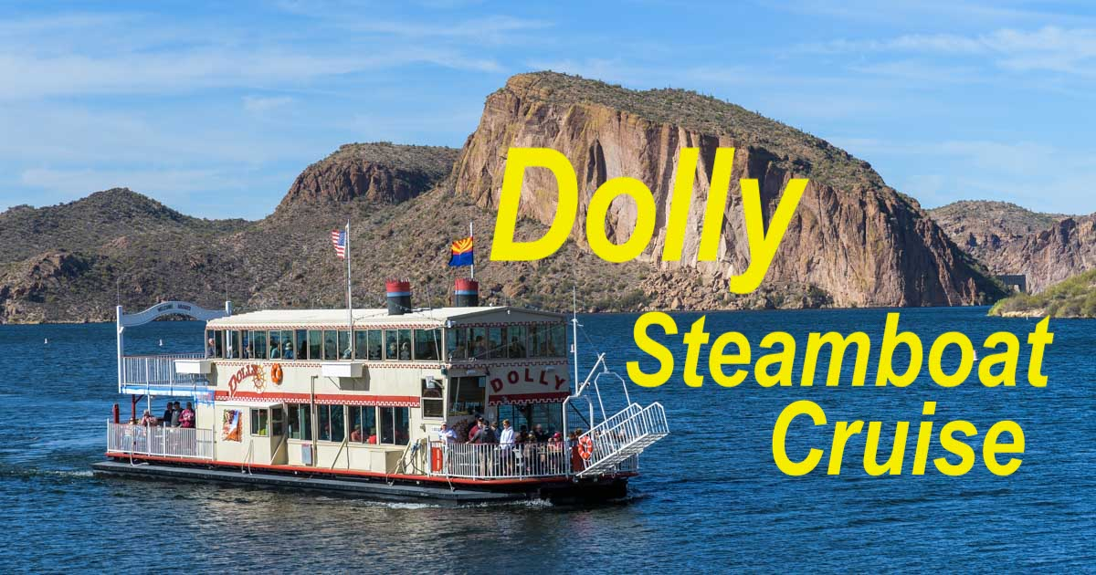 Dolly Steamboat Canyon Lake Arizona RV trip