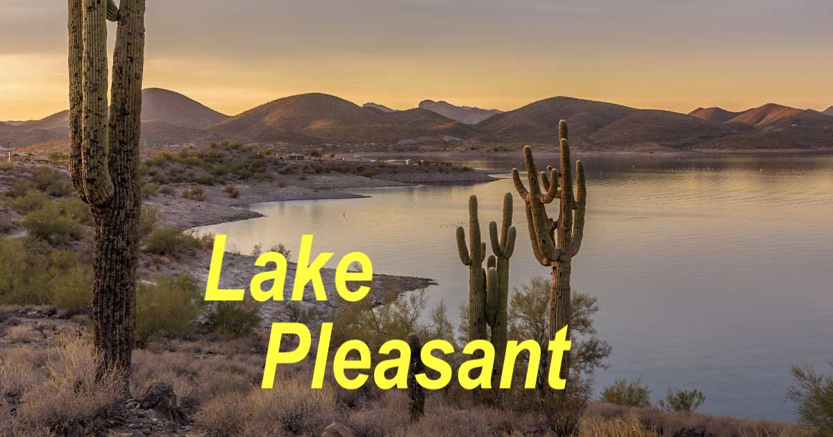Lake Pleasant Amp Canyon Lake Waterfront Camping In