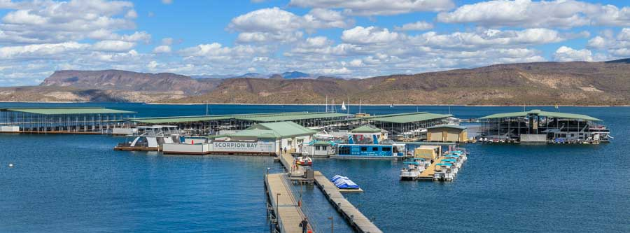 Scorpion Bay Marina Lake Pleasant Arizona-min