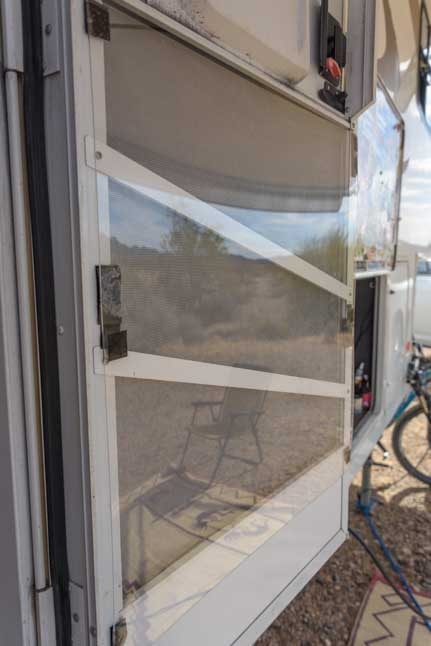 RV screen door plexiglass protection-min