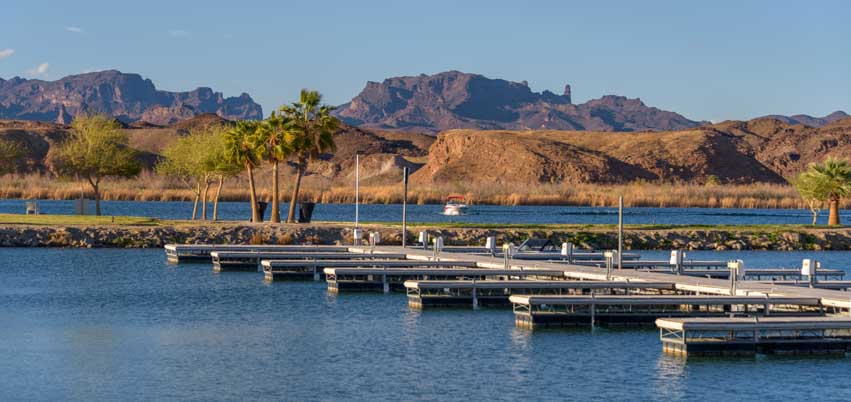 Docks at Bluewater Casino Parker Arizona-min