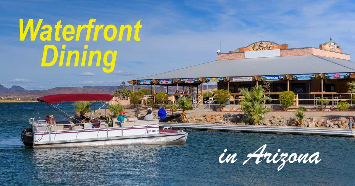 Waterfront Dining In Arizona Scorpion Bay Amp River S Edge