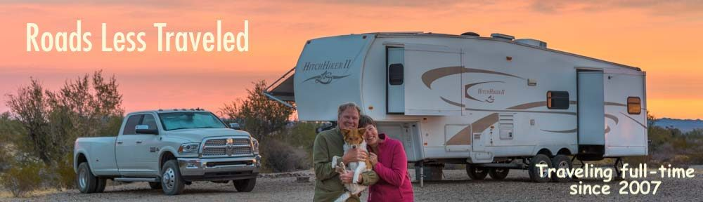 RVing full-time camping travel RV Lifestyle