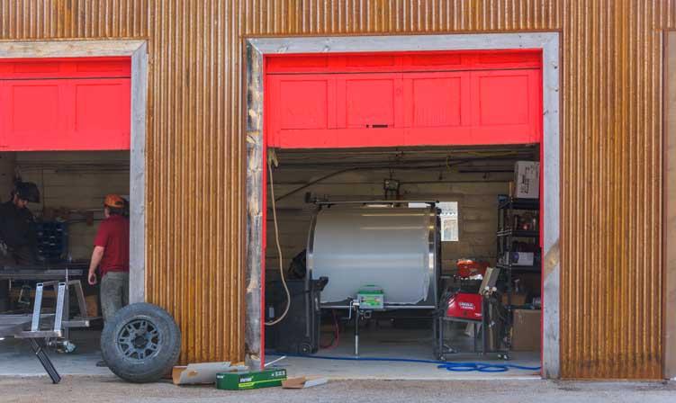 Escapod Trailers manufacturing facility Wanship Utah-min
