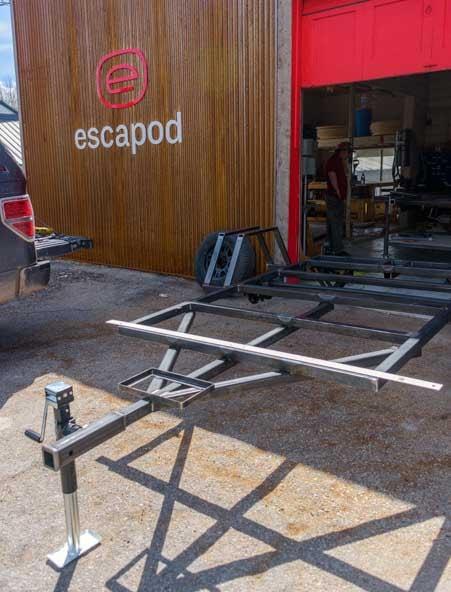 Escapod Teardrop trailer manufacturing Wanship Utah-min