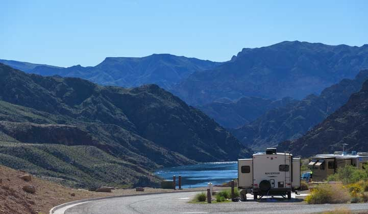 Willow Beach Campground and Marina Colorado River Arizona-min