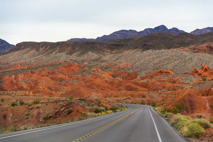 North Shore Road Scenic Drive Lake Mead NV-min