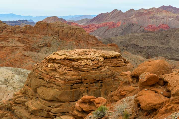 Views on Lake Mead North Shore Road scenic drive Nevada-min