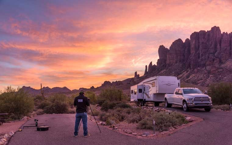 Sunrise Camping World video shoot RVing is for Everyone-min