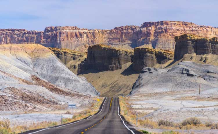 Scenic Drive Capitol Reef National Park RV trip Utah Route 24-min
