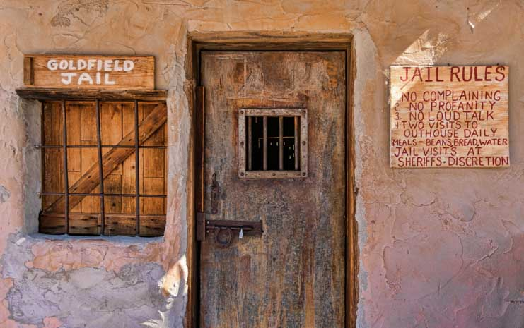 Jailhouse Rules Goldfield Ghost Town video for Camping World-min