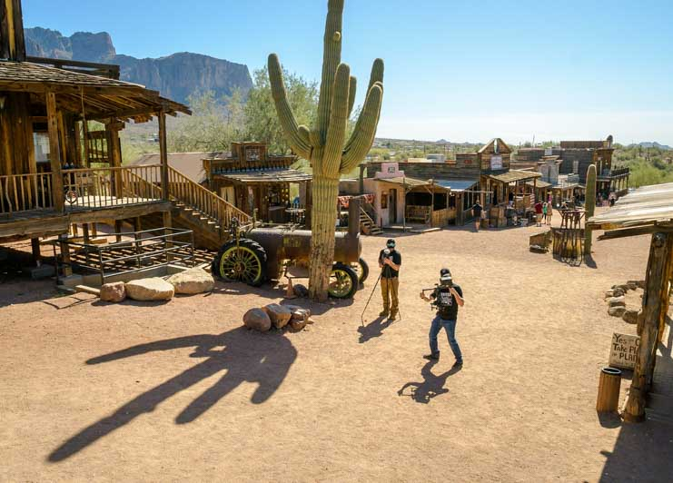 Goldfield Ghost Town for Camping World RVing is for Everyone created by Isaac Aaron Video-min