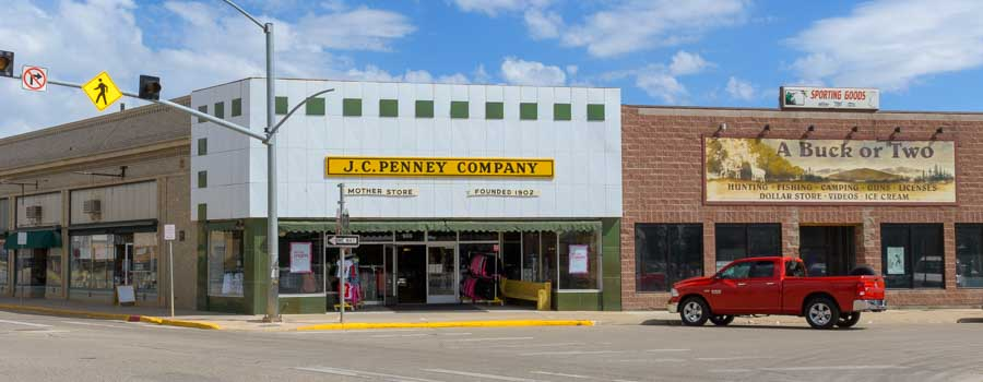 First JC Penney store in Kemmerer Wyomng-min