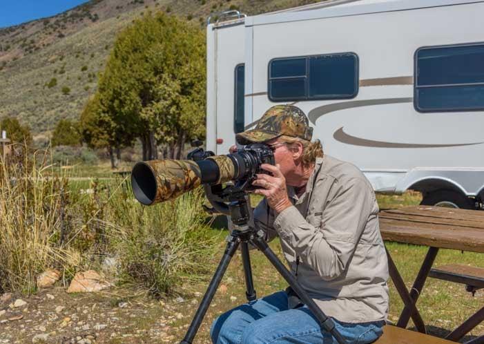Photography fun Sunwayfoto GH-01 Gimbal Head Nikon D500 Tamron 150-600 lens-min