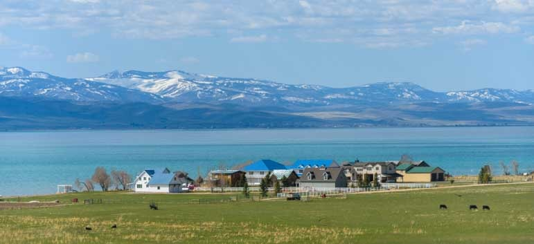 Waterfront farm living Bear Lake Utah