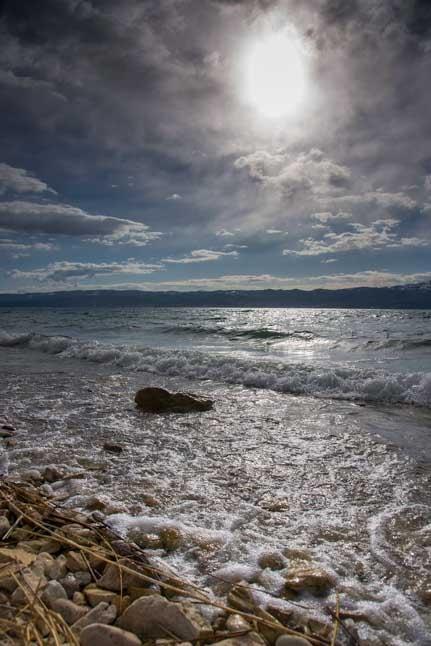 Wild skies Bear Lake Utah-min