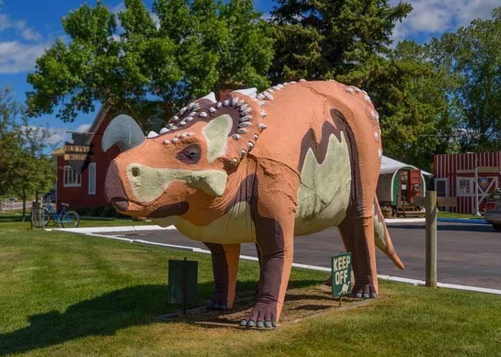 Dinosaur Choteau Montana RV trip-min
