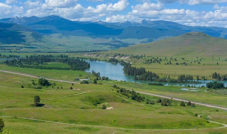River view National Bison Range RV trip-min