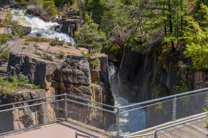 Shell Falls Big Horn Mountains RV trip Wyoming-min