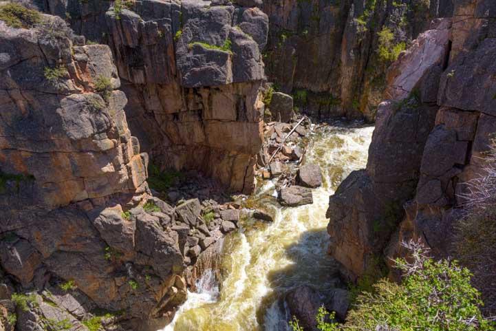 Shell Falls Canyon Wyoming RV camping trip-min