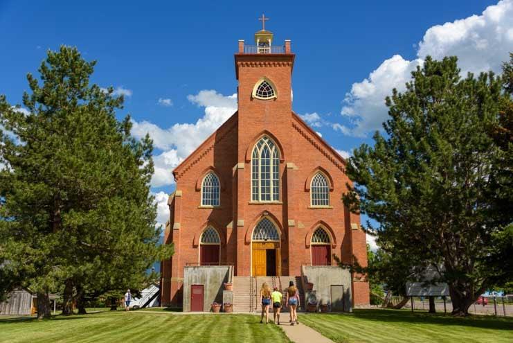 St. Ignatius Mission Montana RV trip
