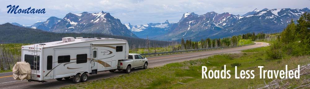 Montana RV trips in the Rocky Mountains