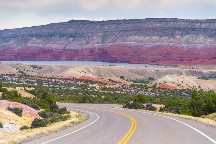 Bighorn Canyon National Rec Area Scenic Drive Montana and Wyoming RV trip-min