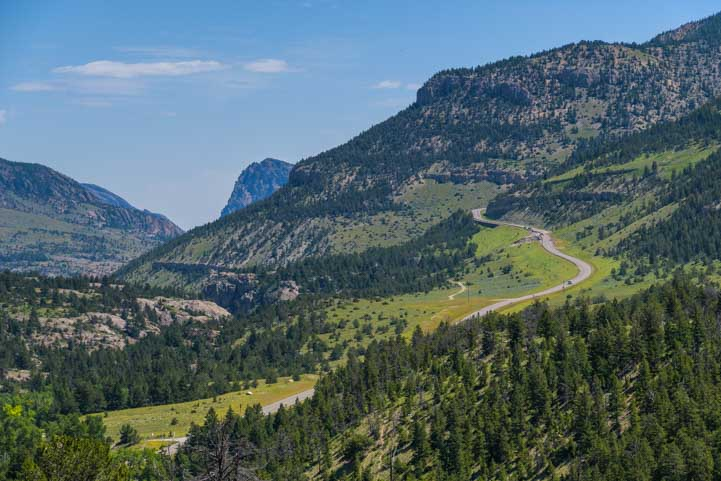 Chief Joseph Scenic Highway Wyoming RV Trip-min