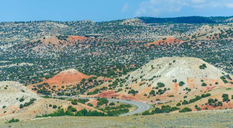 Bighorn Canyon scenic drive Montana and Wyoming RV trip-min