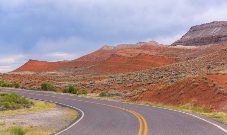 Bighorn Canyon National Recreation Area Scenic drive by RV-min