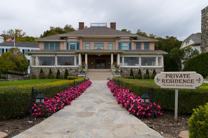 Private residence mansion Mackinac Island Michigan-min