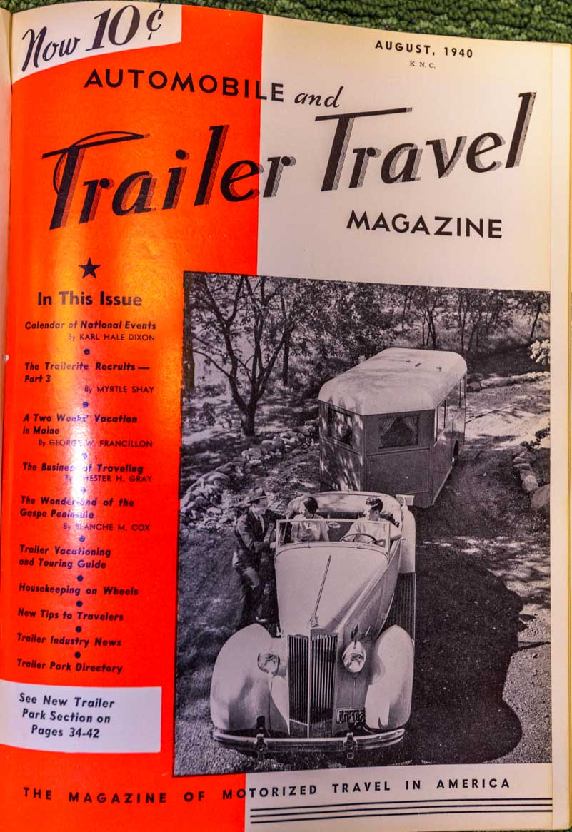 Automobile and Trailer Travel Magazine 1940-min