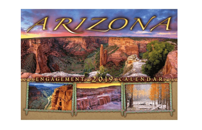Arizona Wall Calendar Smith-Southwestern-min