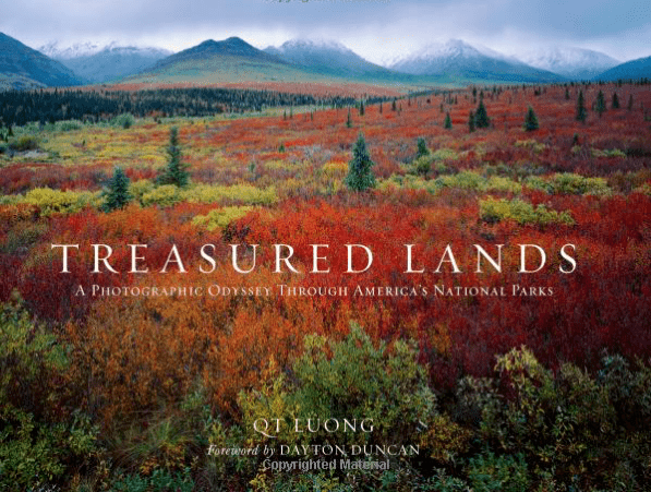 Treasured Lands Odyseey through the National Parks coffee table photography book-min