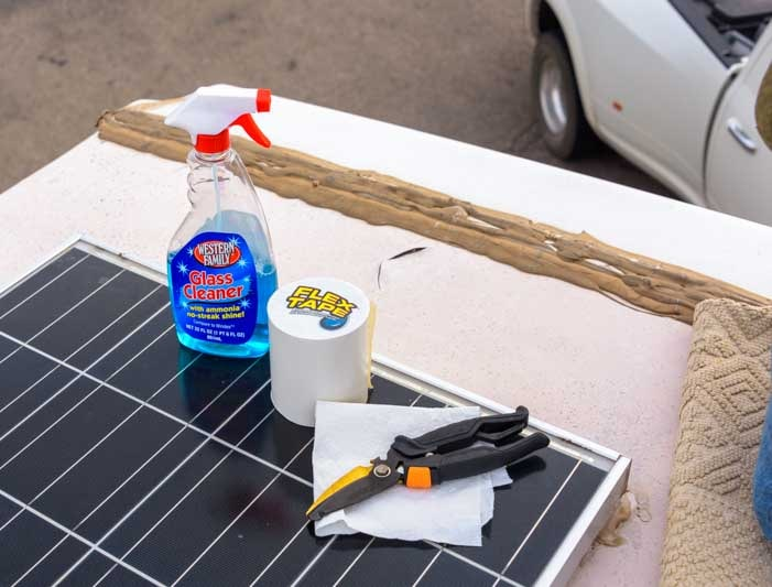 Tools needed for RV rubber roof repair-min