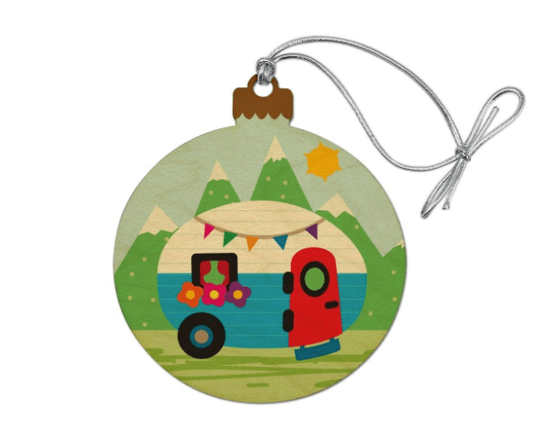 RV Christmas tree ornament-min