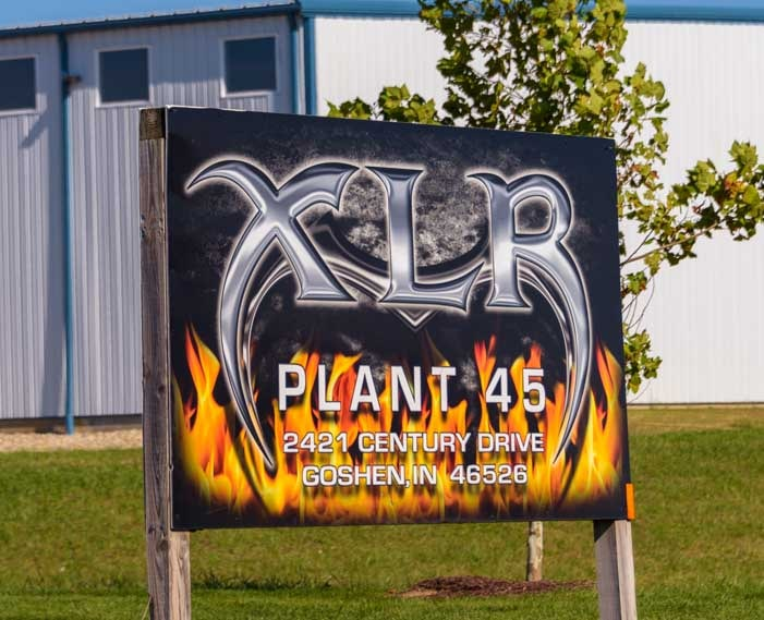 XLR toy hauler plant Elkhart Indiana RV industry-min