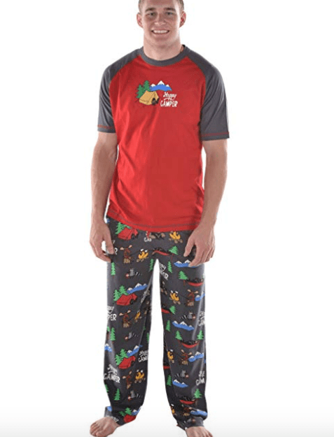 Happy Camper Men's Pajamas-min