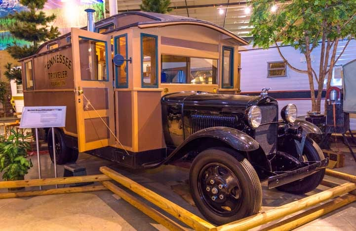 1931 Model AA Ford House Car-min