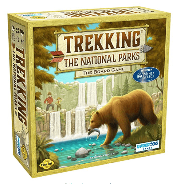 Board game Trekking the National Parks-min