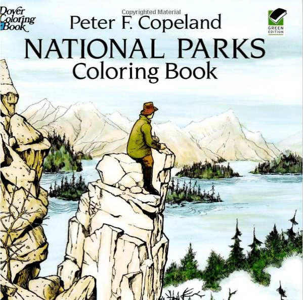 Peter Copeland National Parks Coloring BOok-min