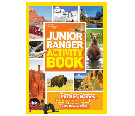 Junior Ranger Activity Book-min