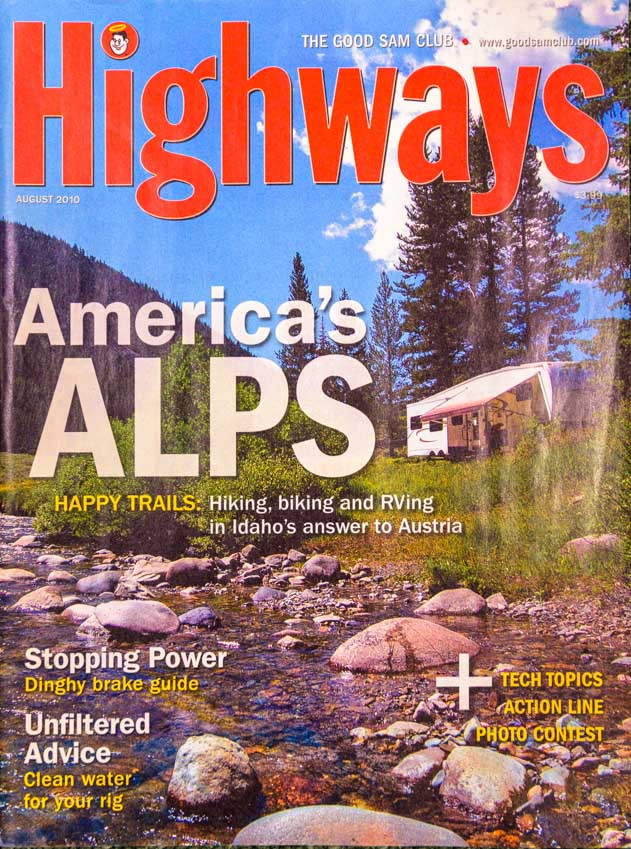 August 2010 Highways Magazine Cover 1977 Trailer Travel Magazine RV-MH Hall of Fame and Museum Elkhart IN-min