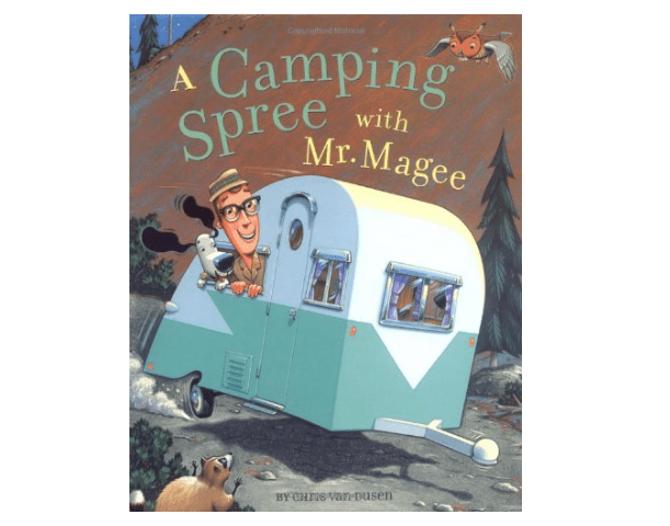 Kids book A Camping Spree with Mr Magee-min